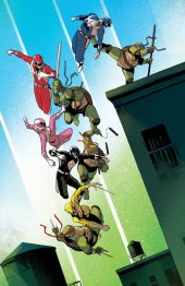 Mighty Morphin Power Rangers / Teenage Mutant Ninja Turtles #3 FOC Variant
