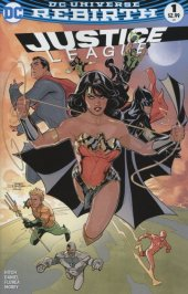 Justice League #1 Midtown Comics Color Variant