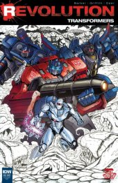Transformers: Revolution #1 Local Comic Shop Day Variant
