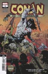 Conan the Barbarian #1 3rd Printing Asrar Variant