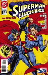 Superman Unchained #5 75th Anniversary Superman Reborn Cover