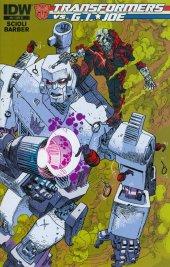 Transformers vs. G.I. Joe #8 10 Copy Incentive Variant