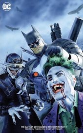 The Batman Who Laughs: The Grim Knight #1 The Comic Mint Exclusive Mike Mayhew Virgin Variant