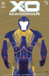 X-O Manowar #1 Cover F 1:250 Cover Bronze Variant
