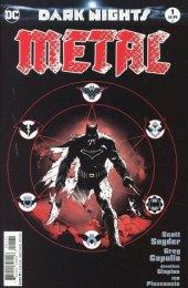 Dark Nights: Metal #1 Greg Capullo Midnight Variant C