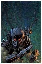 Predator: Hunters III #4 Cover B Warner Glow Dark Ink