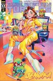 Teenage Mutant Ninja Turtles: Jennika #3 Rian Gonzales Variant