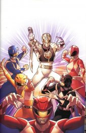 Mighty Morphin Power Rangers #40 1:40 Incentive Campbell Variant