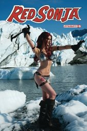 Red Sonja #15 Cover E Decobray Cosplay