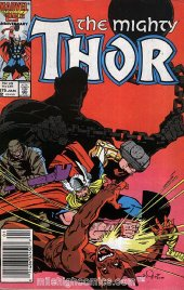 The Mighty Thor #375 Newsstand Edition