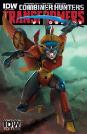 The Transformers: Windblade #4 Convention cover