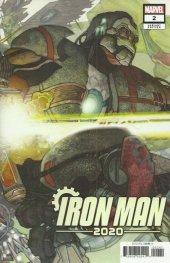 Iron Man 2020 #2 Bianchi Connecting Variant