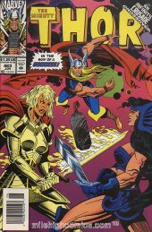 The Mighty Thor #463 Newsstand Edition