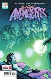 West Coast Avengers #3 Original Cover