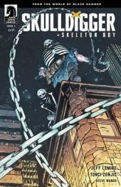 Skulldigger + Skeleton Boy #4 Cover B Johnson and Spicer
