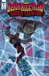 TMNT: Bebop & Rocksteady Destroy Everything #1 Retailer Incentive Variant