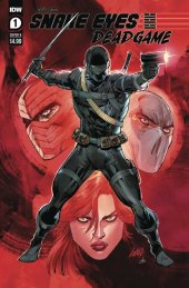 Snake Eyes: Deadgame #1 Cover B  Liefeld