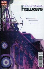 Hawkeye #13 Smallwood Lenticular Homage Variant