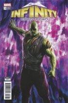 Infinity Countdown #3 Drax Holds Infinity (Granov) Variant