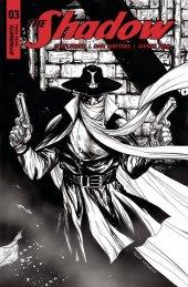 The Shadow #3 Cover F 1:30 Kirkham B&w In