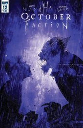The October Faction #12 Original Cover