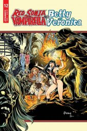 Red Sonja & Vampirella Meet Betty & Veronica #12 Cover C Braga
