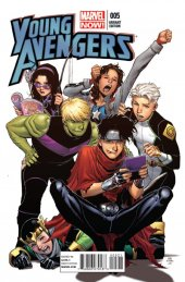 Young Avengers #5 Cheung Variant