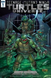 Teenage Mutant Ninja Turtles: Universe #1 Sharper Collectibles Exclusive Variant Cover