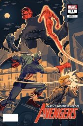 Avengers #21 SDCC Exclusive Mondo Variant by Rich Kelly