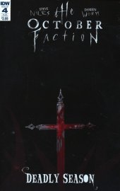 The October Faction: Deadly Season #4 Subscription Variant