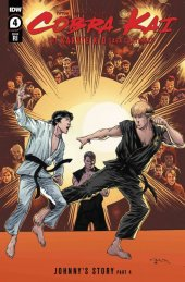 The Cobra Kai: The Karate Kid Saga Continues #4 1:10 Incentive Variant