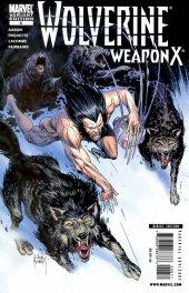 Wolverine: Weapon X #6 Joe Kubert Variant Cover