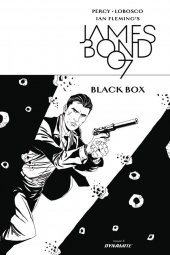 James Bond: Black Box #3 Cover D 1:10 Lobosco B&w In