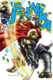 Teenage Mutant Ninja Turtles: Jennika #3 Alan Quah Variant