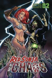 Red Sonja: Age of Chaos #2 Cover D Garza
