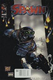 Spawn #64 Newsstand Edition