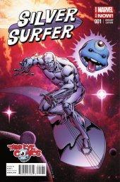 Silver Surfer #1 Third Eye Comics Variant