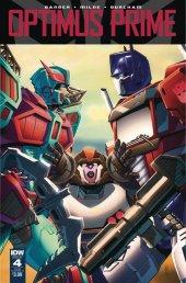 Optimus Prime #4 SUB-A Cover