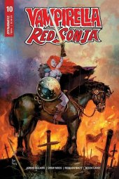 Vampirella / Red Sonja #10 Cover B Reis