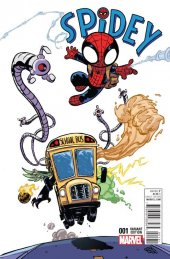 Spidey #1 Young Variant