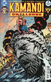 The Kamandi Challenge #8 Variant Edition