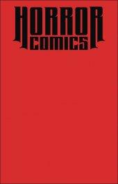 Horror Comics: Sketchbook #1 Blood Dead Cover