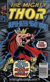 The Mighty Thor #450 Newsstand Edition