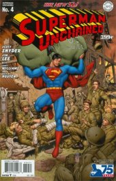 Superman Unchained #4 75th Anniversary Golden Age Cover