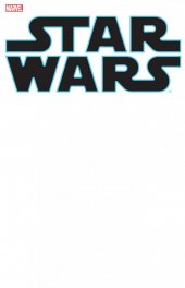 Star Wars #1 Blank Variant Cover
