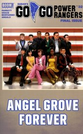 Go Go Power Rangers #32 Cover B Mercado