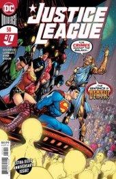 Justice League #50 Original Cover