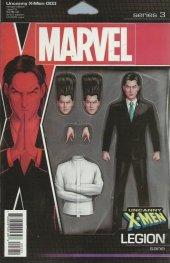 Uncanny X-Men #3 Christopher Action Figure Variant