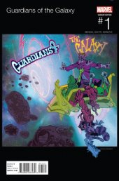 Guardians of the Galaxy #1 Crystal Hip Hop Variant