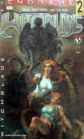 Witchblade #60 Platinum Foil Cover